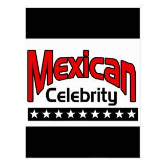 Mexican Celebrity Postcard