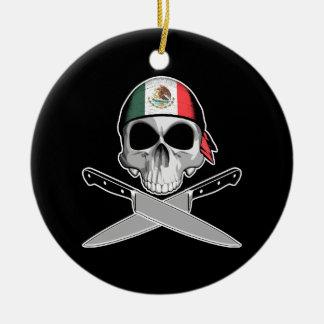 Mexican Chef Ceramic Ornament