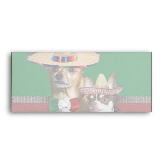 Mexican Chihuahua dogs  envelope