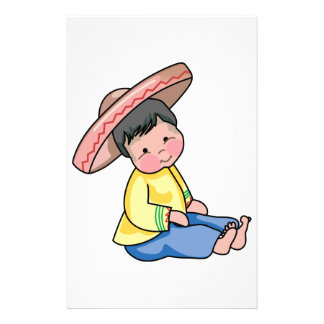 MEXICAN CHILD STATIONERY DESIGN