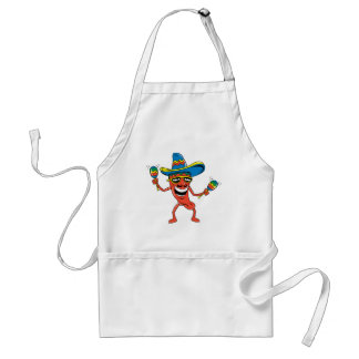 Mexican Chili Pepper Adult Apron