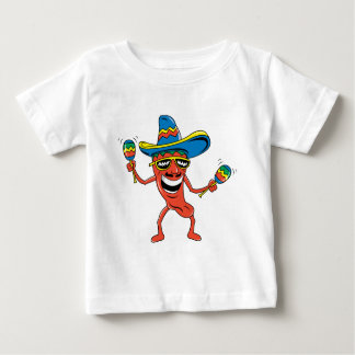 Mexican Chili Pepper Baby T-Shirt