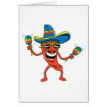 Mexican Chili Pepper Card