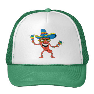 Mexican Chili Pepper Hat