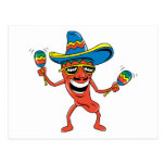 Mexican Chili Pepper Postcards