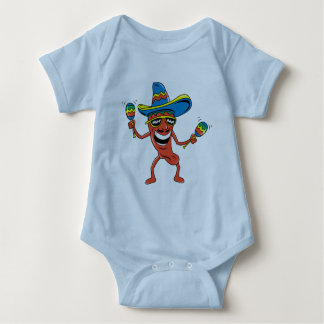 Mexican Chili Pepper Tee Shirt