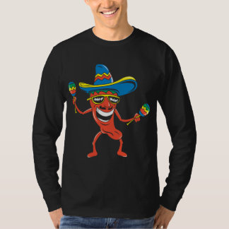 Mexican Chili Pepper Tee Shirt