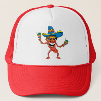 Mexican Chili Pepper Trucker Hat
