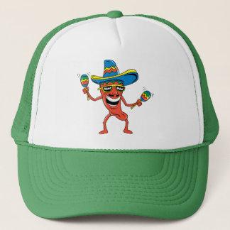 Mexican Chili Pepper Trucker Hat