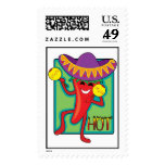 Mexican Chili Postage Stamp