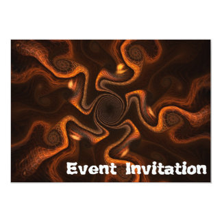 Mexican Chocolate 5x7 Paper Invitation Card