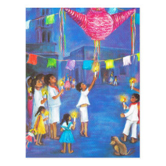 Mexican Christmas, fun decorations, celebrate Postcard