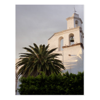 Mexican Church Bell Tower Postcard