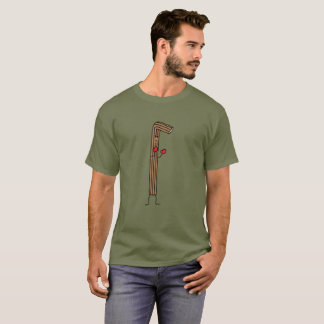 Mexican Churro Fighter with Red Boxing Gloves T-Shirt
