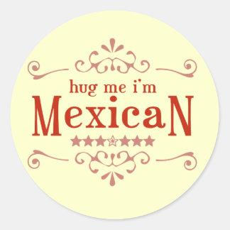Mexican Classic Round Sticker