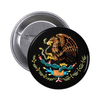 Mexican coat of arms button
