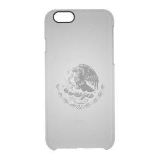 Mexican coat of arms clear iPhone 6/6S case