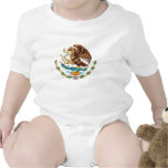 Mexican Coat of Arms for Baby Rompers