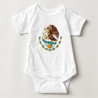 Mexican Coat of Arms for Baby Tee Shirt