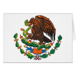 Mexican Coat of Arms Greeting Card