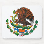 Mexican Coat of Arms Mousepad