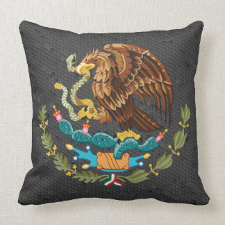 Mexican coat of arms pillow