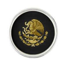 Mexican coat of arms pin