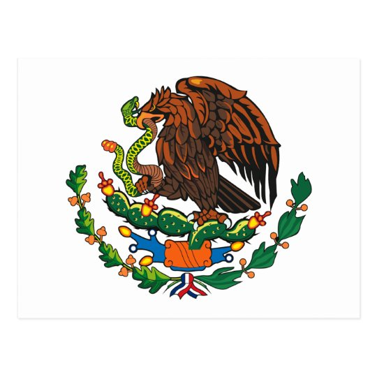 Mexican Coat of Arms Postcard