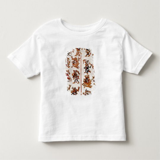 Mexican codex toddler t-shirt
