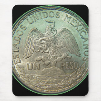 Mexican Coin or Peso Mouse Pad