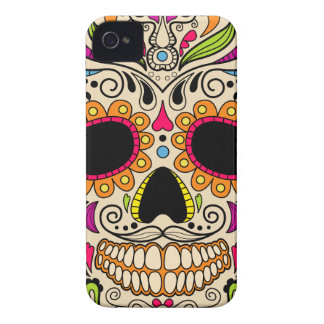 Mexican color skull iPhone 4 case