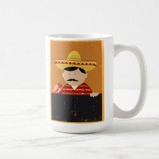 Mexican Cook And Cartoon Spice Mug