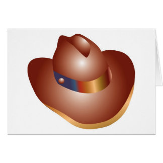 Mexican Cowboy Hat Greeting Card