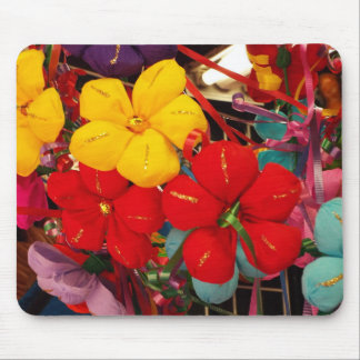 Mexican Crepe Flowers Mouse Pad