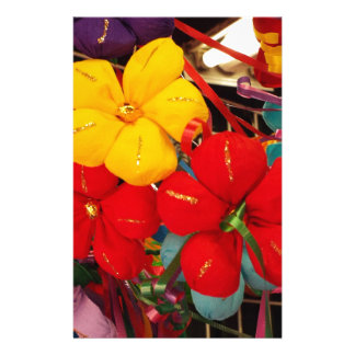 Mexican Crepe Flowers Stationery