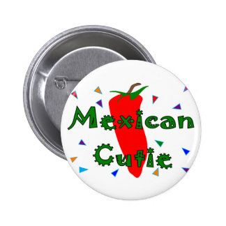 Mexican Cutie Red Chilli Pepper T-Shirts & Gifts Pinback Button