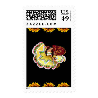 Mexican Dancer Postage