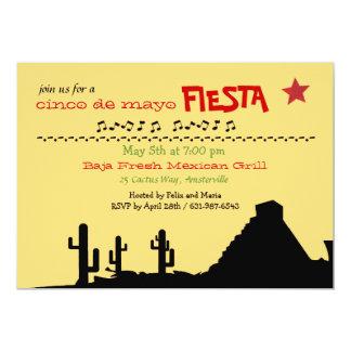 Mexican Desert Invitation