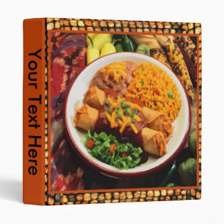 Mexican Dinner Binder