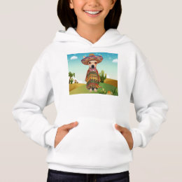 Mexican dog ,chihuahua hoodie
