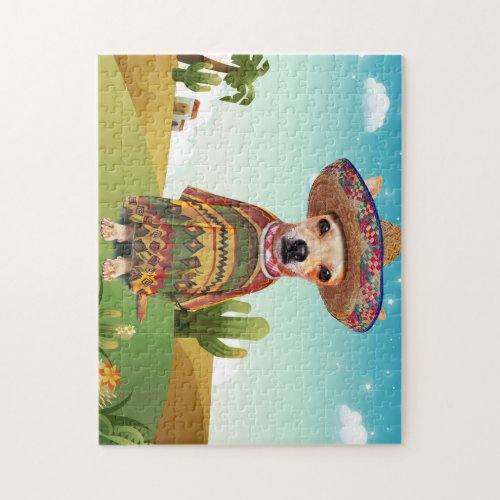 Mexican dog chihuahua jigsaw puzzle