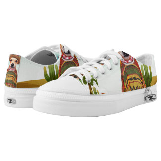 Mexican dog ,chihuahua Low-Top sneakers