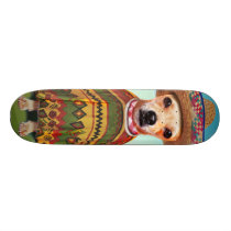 Mexican dog ,chihuahua skateboard deck