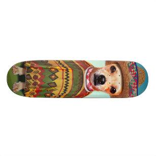 Mexican dog ,chihuahua skateboard deck