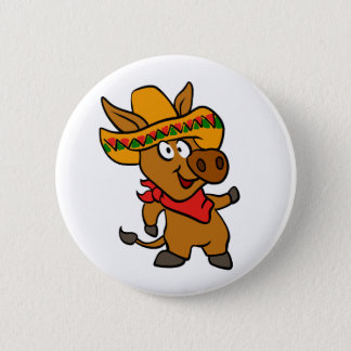 Mexican donkey button