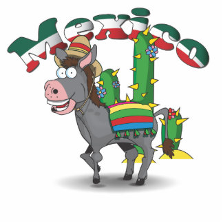 Mexican Donkey Cutout