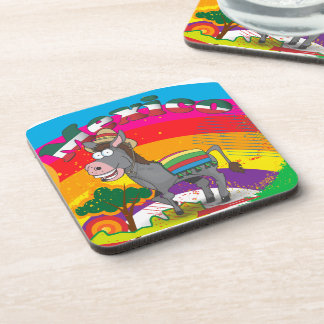 Mexican Donkey Drink Coaster