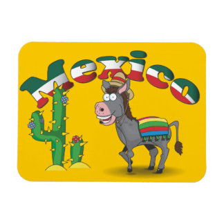 Mexican Donkey Magnet