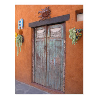 Mexican Doorway Postcard