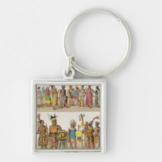 Mexican Dress Keychain
